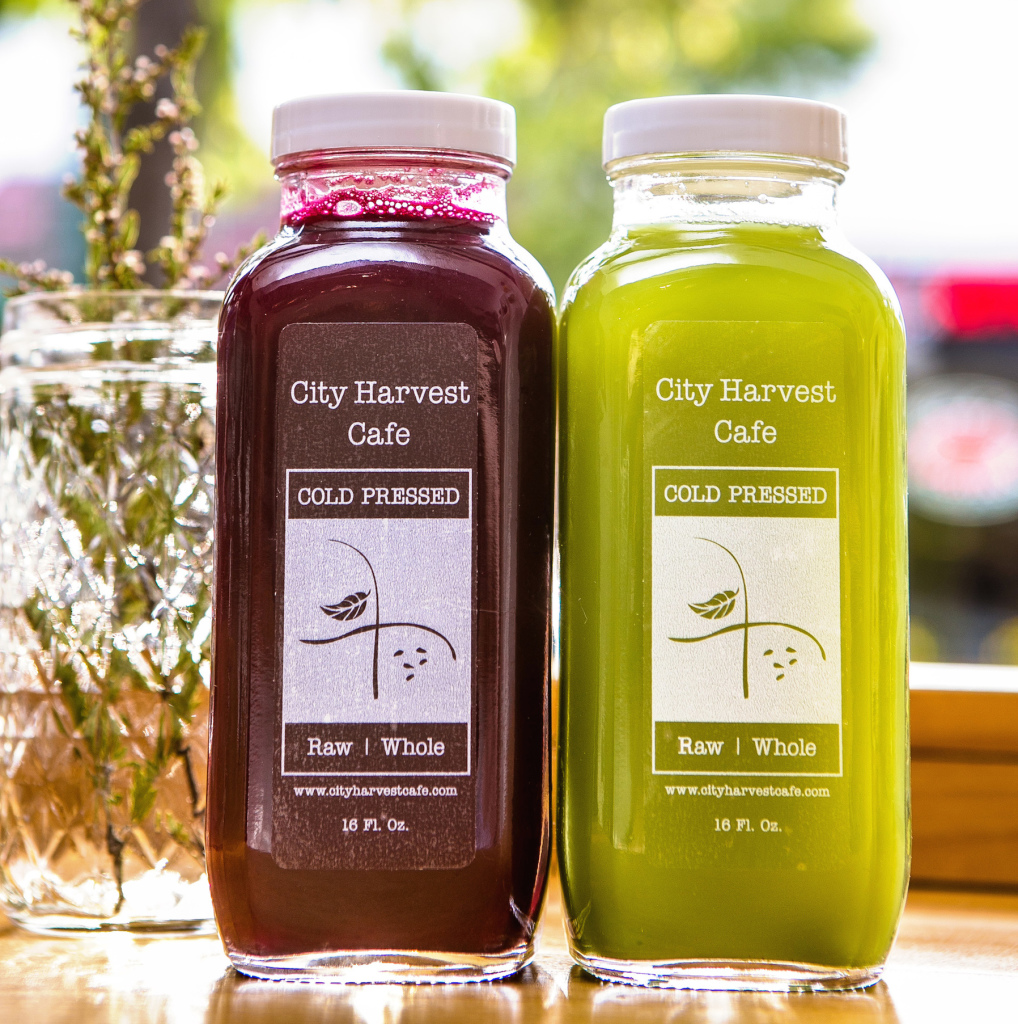 Bloody Merry and House Green I cold-pressed juices