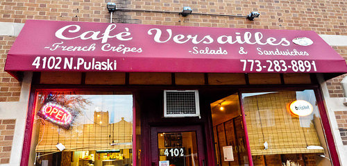 Cafe Versailles, photo: Chicago Alphabet Soup