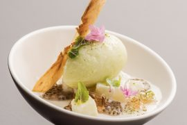 Food Culture Writer, Leah Nolan reviews Executive Pastry Chef, Mari Katsumura's desserts at Acadia on The Chicago Chic.