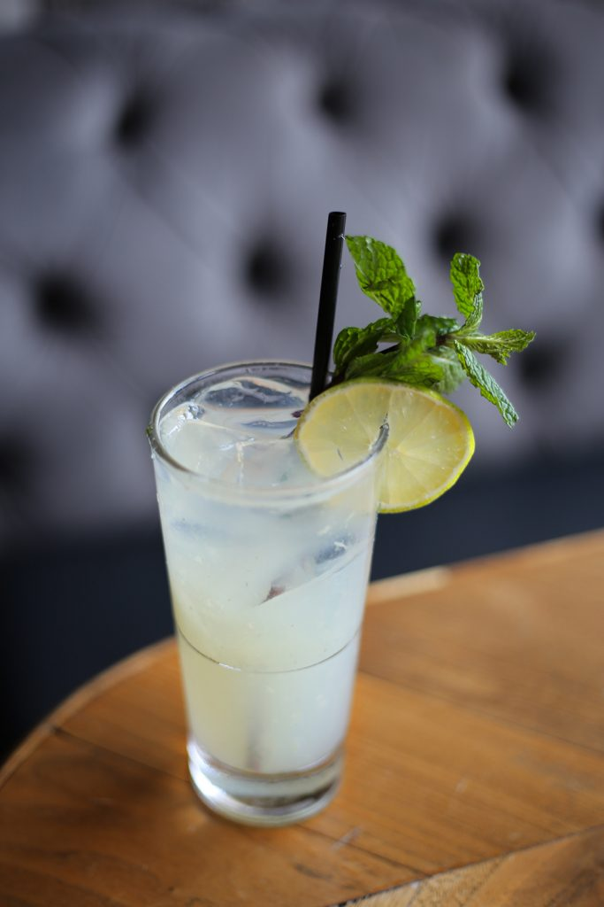 A cocktail review of the Hamilton by Leah Nolan of the Chicago Chic at Seven Lions.