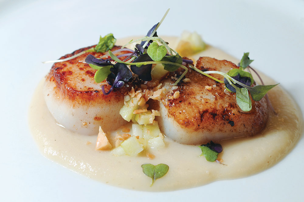 Kendall College Scallops by Leah Nolan of the Chicago Chic.