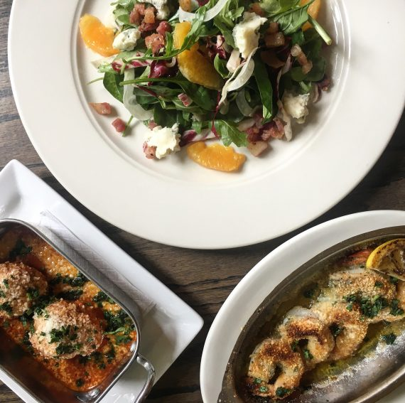 Sal's Trattoria food in Lakeview by Leah Nolan.
