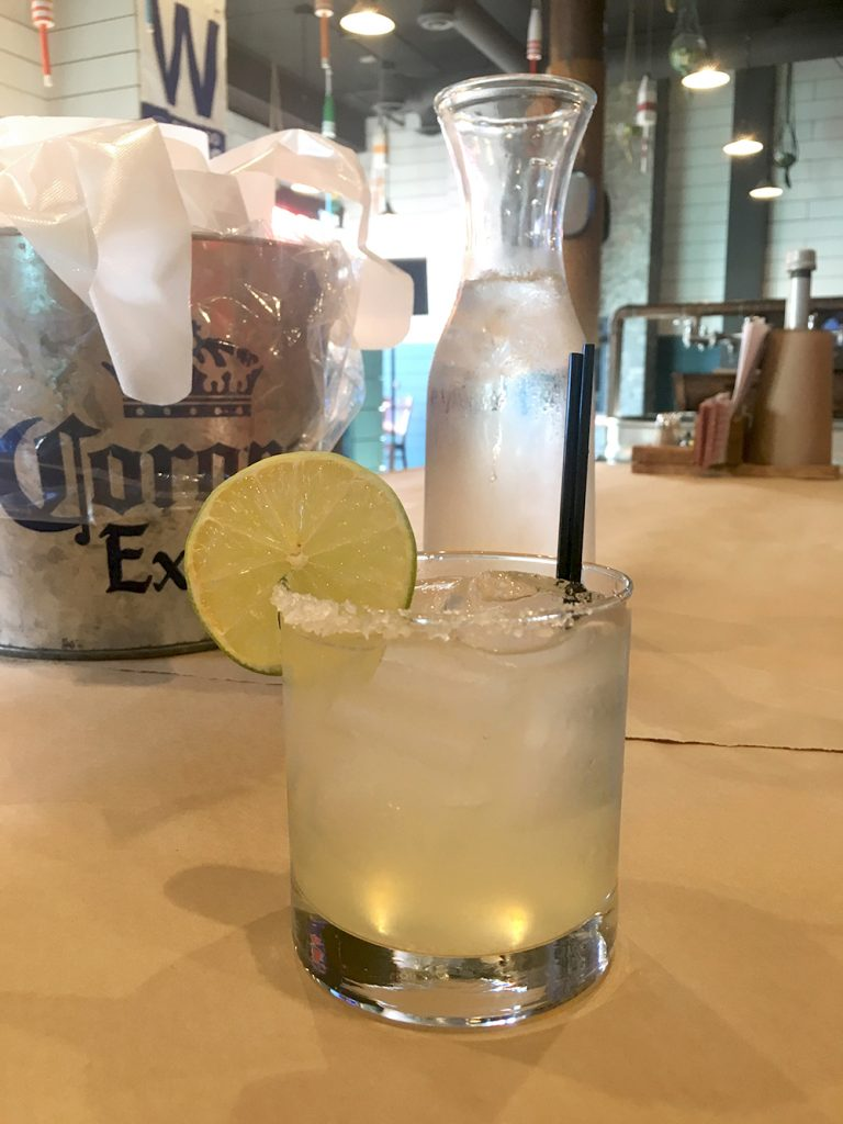 An ice cold margarita at Lowcountry Chicago.