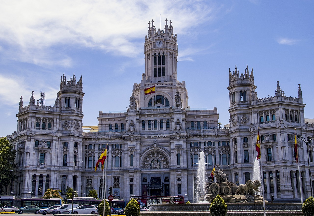 Madrid, Palacio de Cibeles, Spain